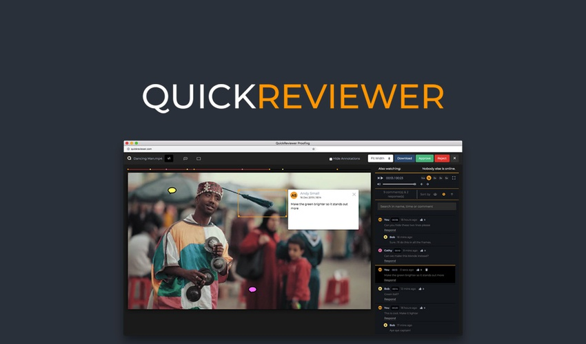Business Legions - QuickReviewer Lifetime Deal for $49