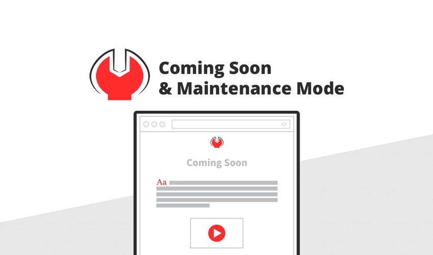 Coming Soon & Maintenance Mode Lifetime Deal for $39