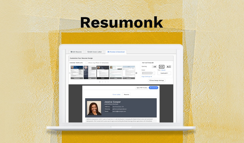 Resumonk Lifetime Deal for $39