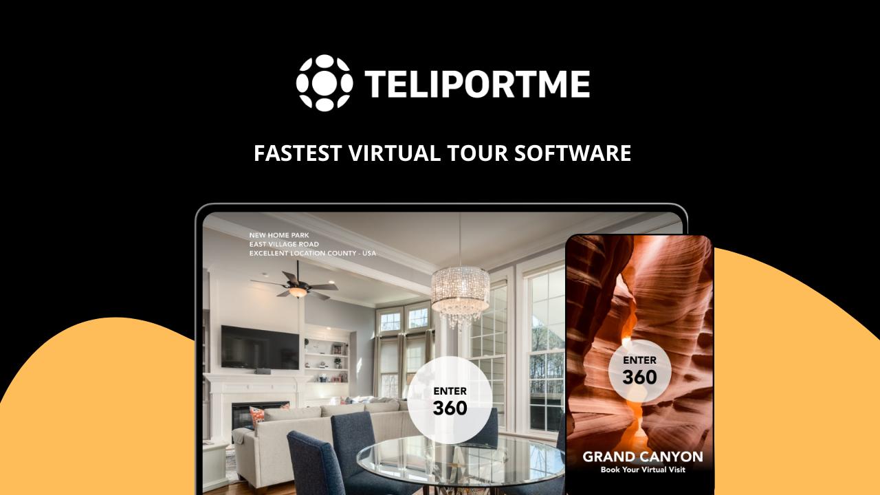 TeliportMe Virtual Tours Lifetime Deal for $79