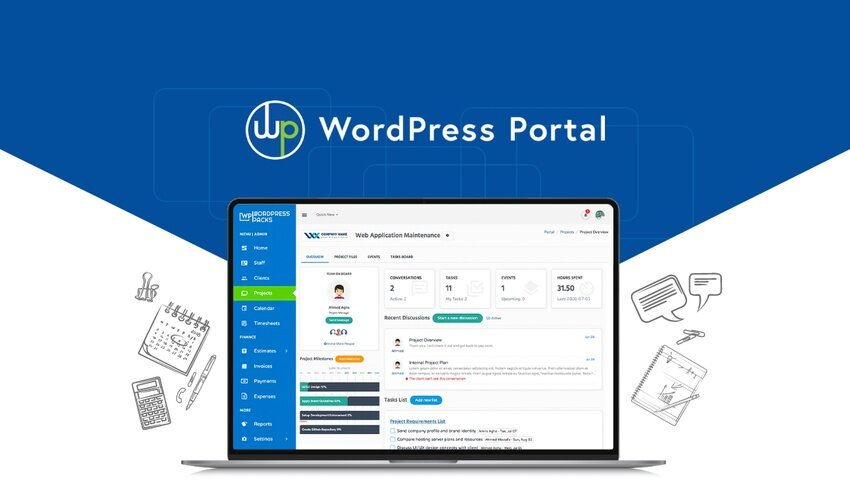 WordPress Portal Lifetime Deal for $49