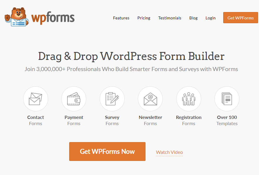 Business Legions Best Form Builder for WordPress