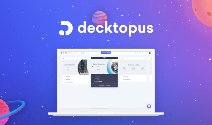 Decktopus Lifetime Deal for $49