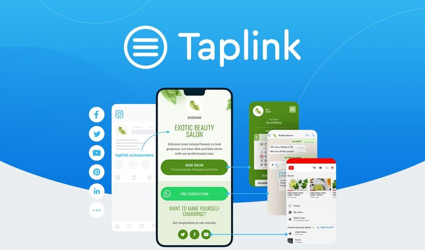 Taplink Lifetime Deal for $49