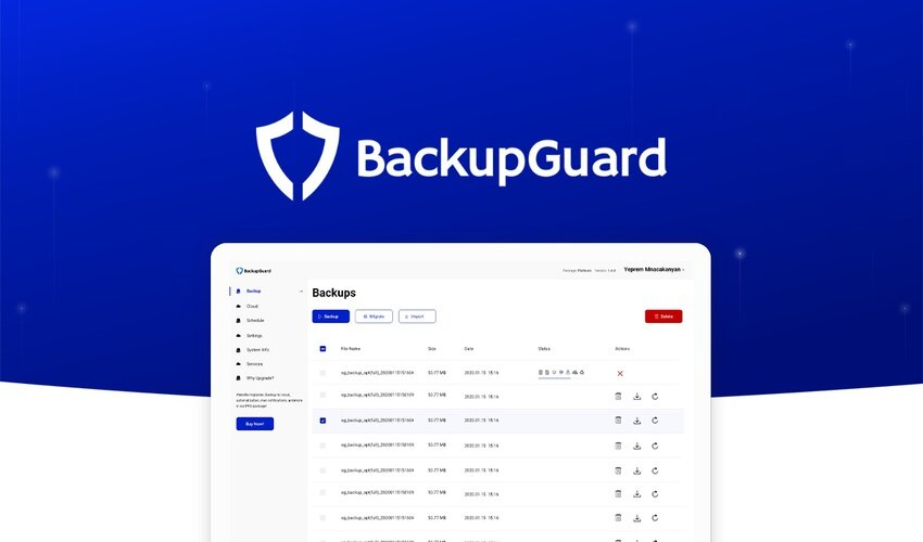 BackupGuard WordPress Plugin Lifetime Deal for $39