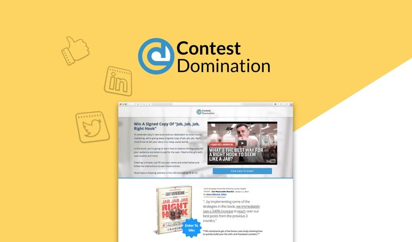 Contest Domination Lifetime Deal for $49