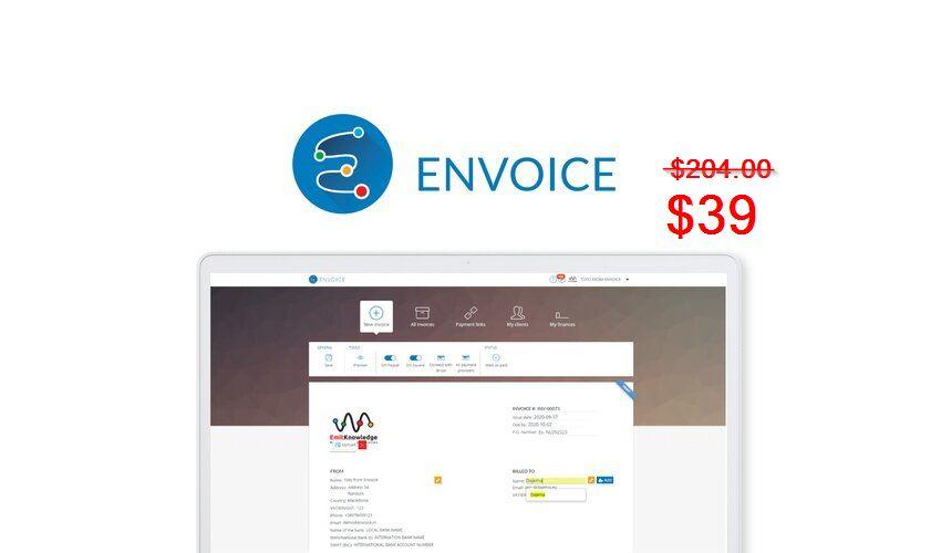 Envoice Lifetime Deal for $39