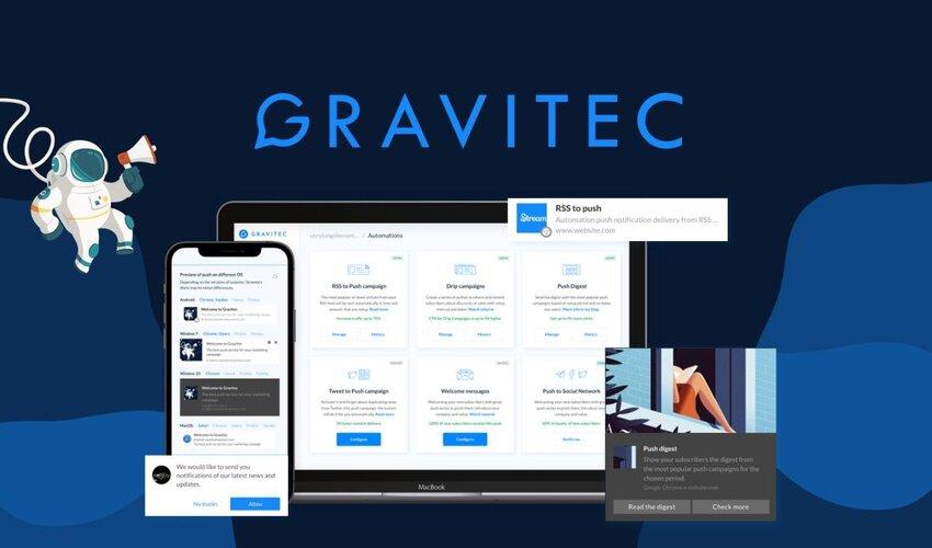 Gravitec Lifetime Deal for $39