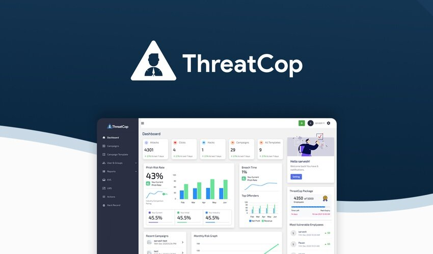 Business Legions - ThreatCop Lifetime Deal for $69