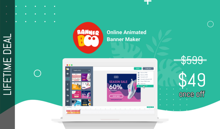 BannerBoo Lifetime Deal for $49