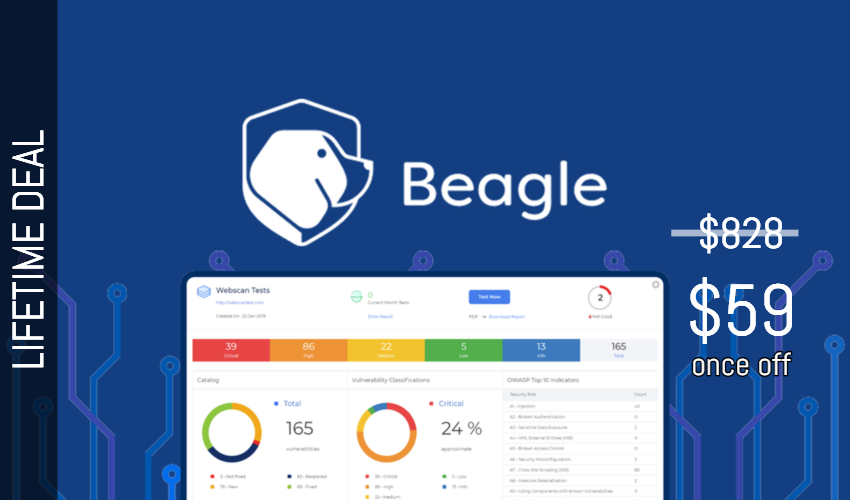 BeagleSecurity Lifetime Deal for $59