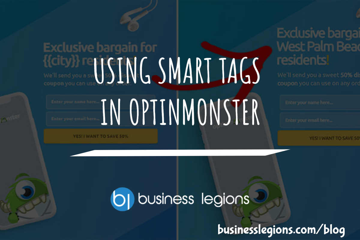 USING SMART TAGS IN OPTINMONSTER