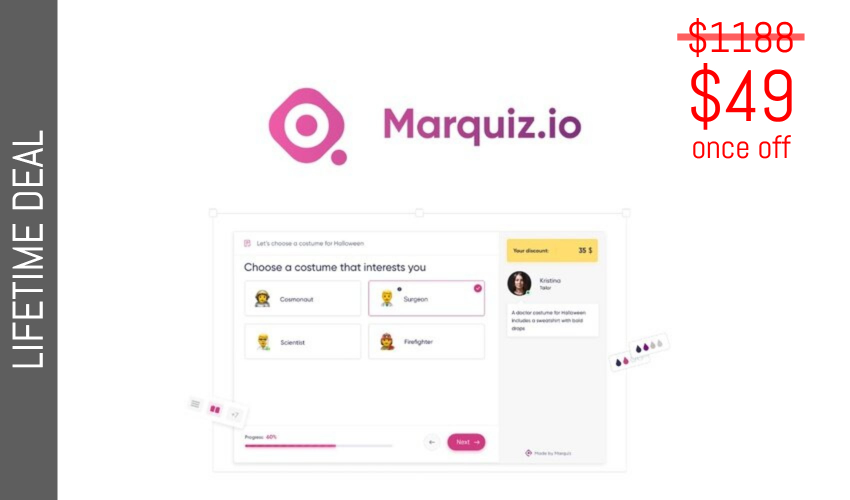 Marquiz Lifetime Deal for $49
