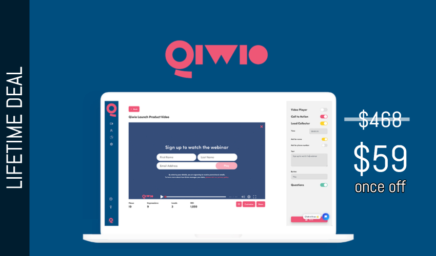 Qiwio Lifetime Deal for $59