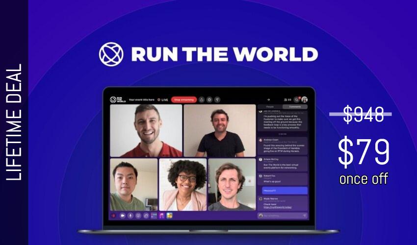 Run The World Lifetime Deal for $79