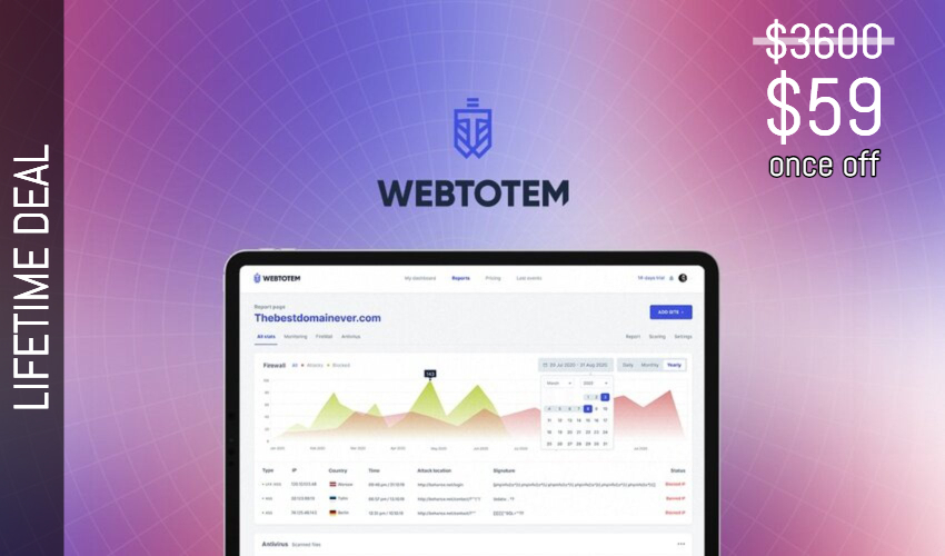 WebTotem Lifetime Deal for $59