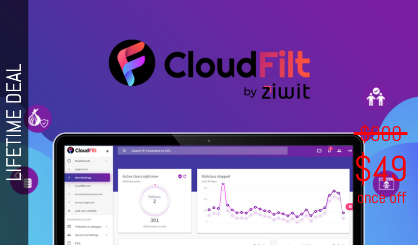 CloudFilt Lifetime Deal for $49