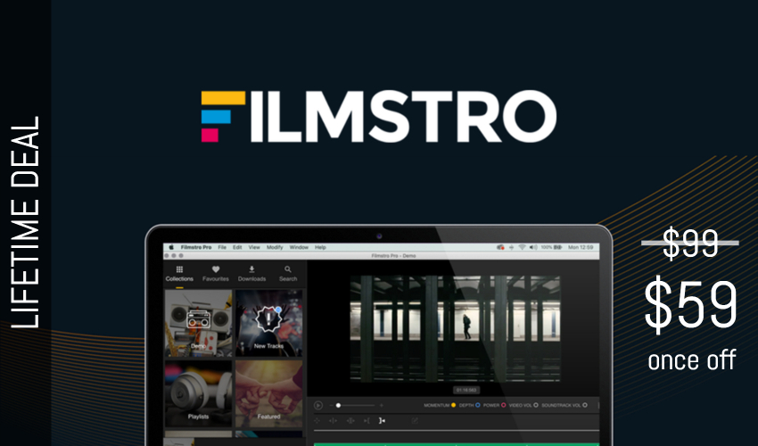 Filmstro Lifetime Deal for $59