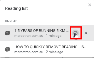 Business Legions Remove Chrome Reading List read