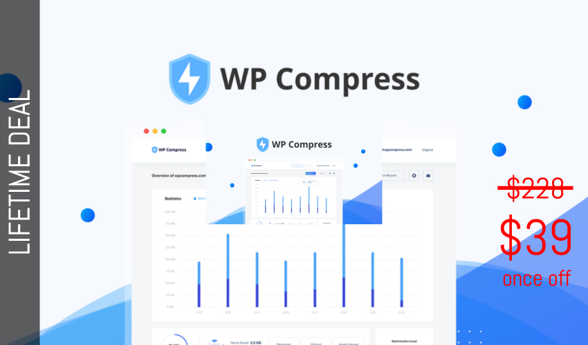 WP Compress Lifetime Deal for $39