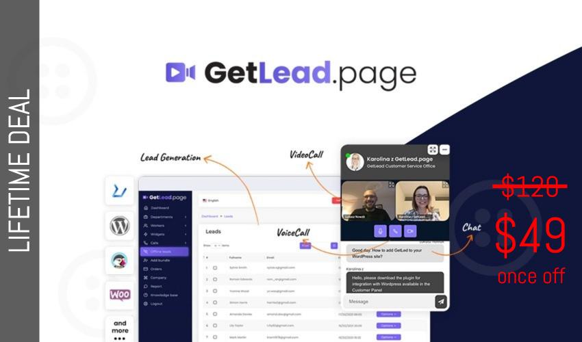 GetLead.page Lifetime Dealfor $49