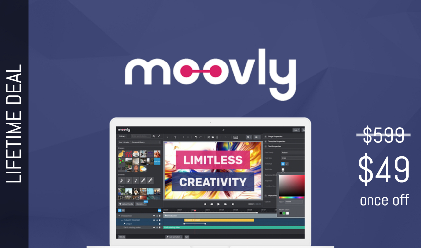 Moovly Lifetime Deal for $49
