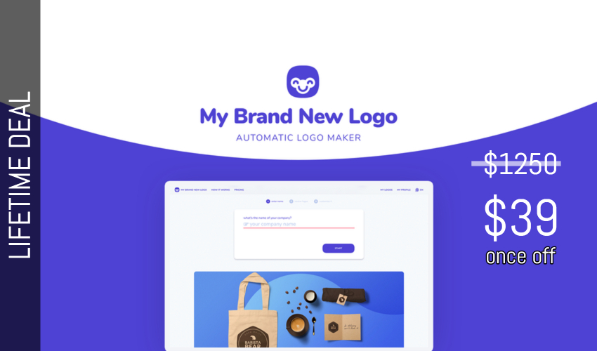 My Brand New Logo Lifetime Deal for $39