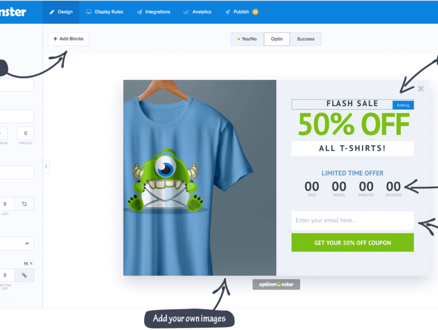Business Legions USING POPUPS FOR COUPONS TO GENERATE MORE SALES Optinmonster