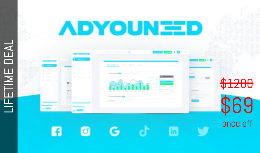 ADYOUNEED Lifetime Deal for $69