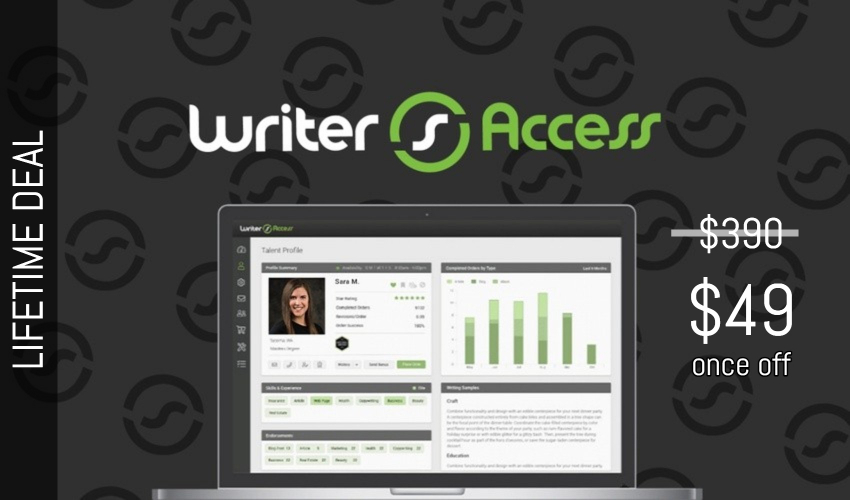 Business Legions - WriterAccess Lifetime Deal for $49