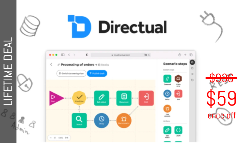 Directual Lifetime Deal for $59