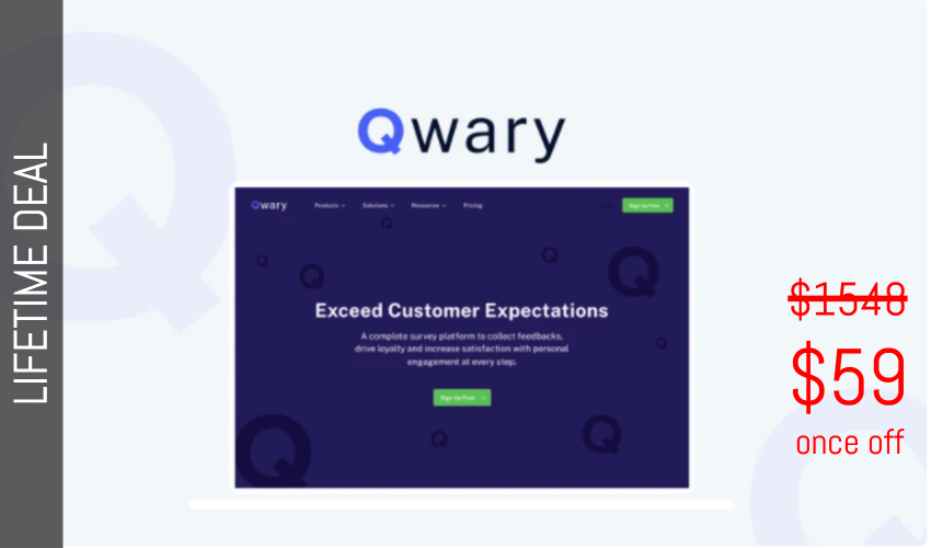 Qwary Lifetime Deal for $59