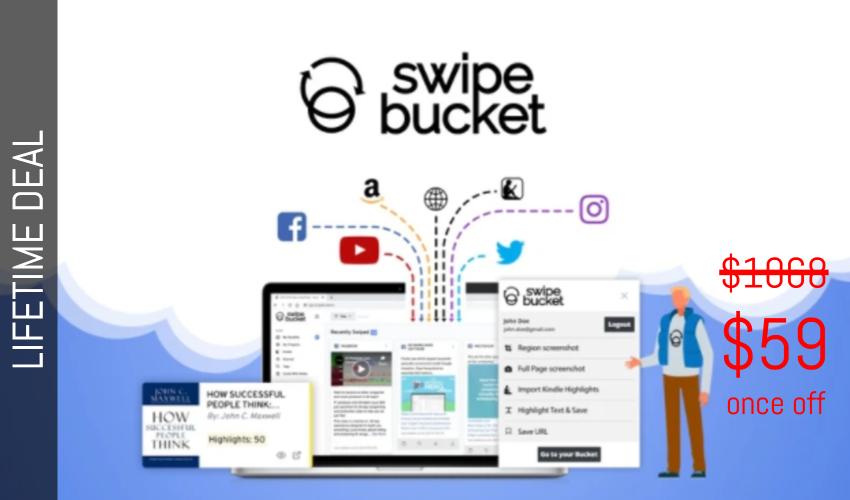 Swipebucket Lifetime Deal for $59