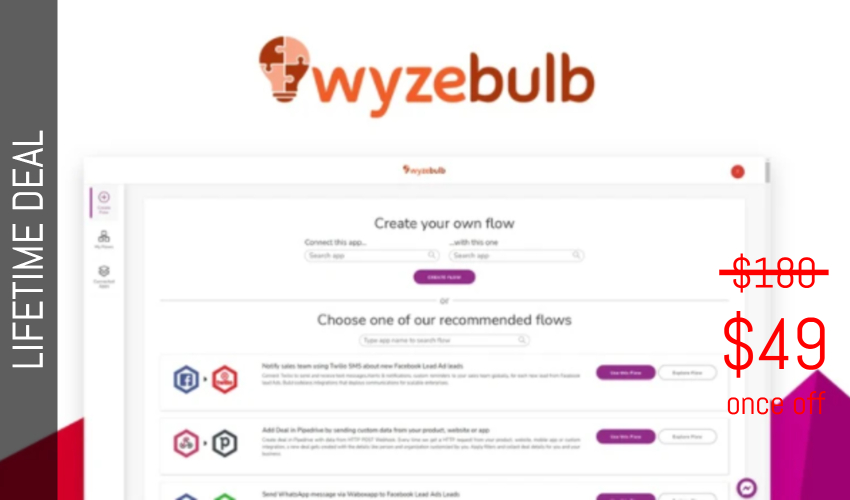 Wyzebulb Lifetime Deal for $49