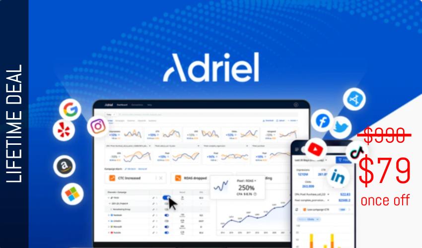 Adriel Lifetime Deal for $79