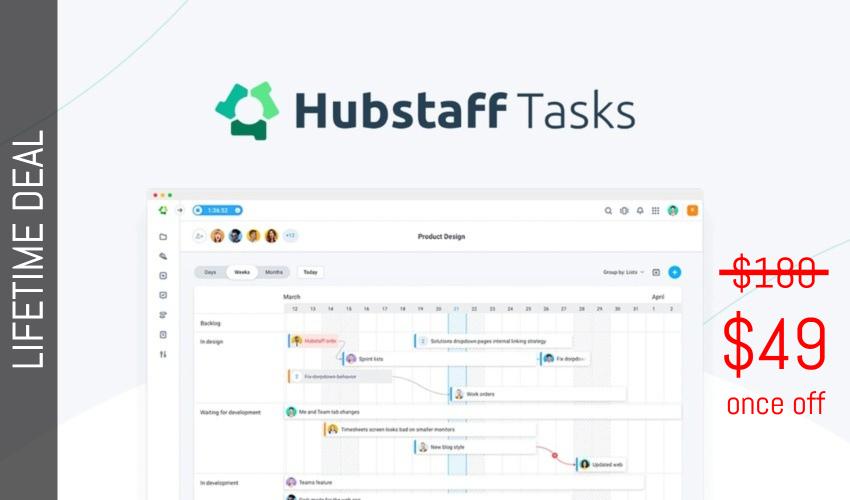 Hubstaff Tasks Lifetime Deal for $49