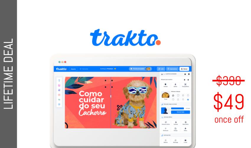 Trakto Lifetime Deal for $49