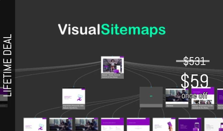 VisualSitemaps Lifetime Deal for $59