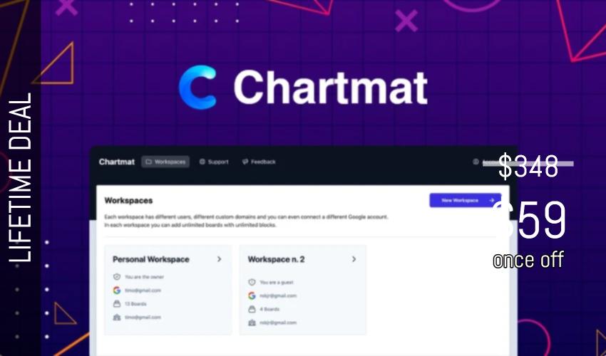 Chartmat Lifetime Deal for $59