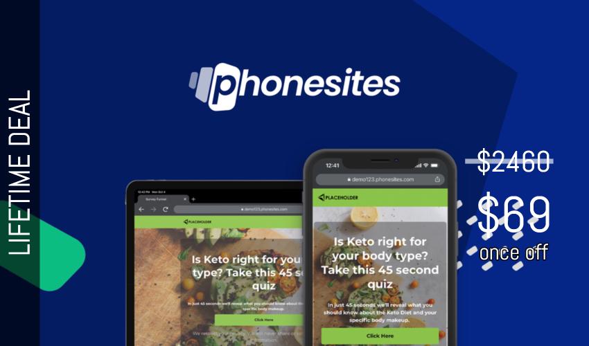 Phonesites Lifetime Deal for $69